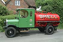 thornycroft finished tanker