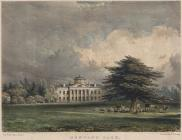 Print, hand coloured lithograph, Newtown Park, Boldre, New Forest, Hampshire, painted by B Ferrey, lithographed by L Haghe, published by R A Grove, Lymington, Lymington and Pennington, Hampshire, early 19th century. Printed by Day and Haghe, Gate Street