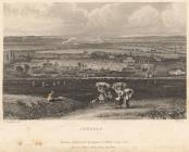 Print, engraving, Andover, Hampshire, drawn by G S Shepherd, engraved by Owen, published for James Robbins, College Street, Winchester, by D E Gilmour, Public Library, High Street, Winchester, Hampshire, mid 19th century.