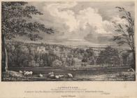 Print, lithograph, Laverstoke Park, seat of William Portal, Laverstoke, Hampshire, by G F Prosser, printed by C Hullmandel, 1833.