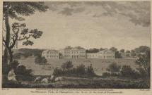 Print, engraving, Hurstbourne Park, seat of the Earl of Porsmouth, Hurstbourne Priors, Hampshire, drawn by Metz, engaved by Heath, published by H D Symonds, Allen and West, and T Conder, London, 1796.
