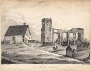 Print, lithograph, Holy Ghost Chapel, Basingstoke, Hampshire, by J O C Grant, printed by C Hullmandel, mid 19th century?