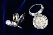 Pocket watch, silver case and pair case, from Robert Wentworth, clockmaker, Salisbury, Wiltshire, c1760