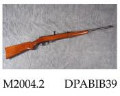 Air rifle, model 275, 4.40mm caliber, bolt action with 6 shot magazine, made by Anschutz Erzeugnis, c1955