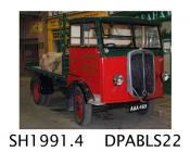 Lorry, Handy coal lorry, type BE/FB4, 2 ton open body coal lorry in Corralls livery, made by Thornycroft, Basingstoke, Hampshire, 1934