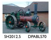 Traction engine, 6 HP steam traction engine, threshing engine, general purpose engine, Registration No. AF 3456, Engine No 7614, single cylinder, two gears, Wallis and Steevens nameplate on smoke box, known as 'Sir Douglas', despatched to first owne
