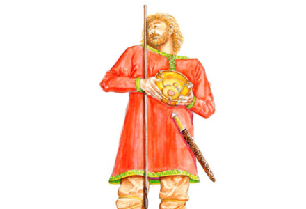 Anglo-Saxon man from Olivers Battery
