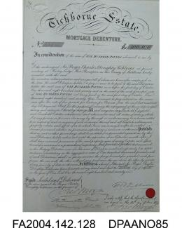 Tichborne Bond, signed by the Claimant and his solicitor, Frederick Moojen, issued 12 June 1871vol 2, page 130